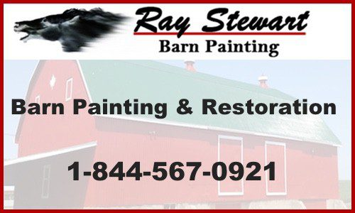 Ray Stewart Barn Painting Service Ontario
